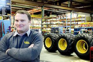 Teknik har varit Andreas Aleryds stora intresse hela livet. Nu är han färsk på tjänsten som marknadschef hos Eco Log.