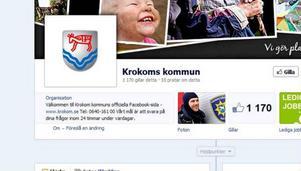 Krokoms kommuns Facebooksida är populärast i länet.