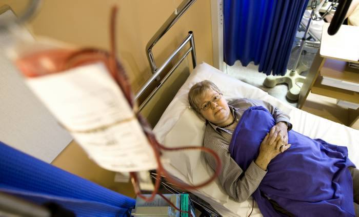 Liten risk att fa hiv av givarblod