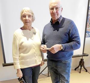 Solveig och Björn Rosén berättade om en resa de gjort till Burma i Asien.