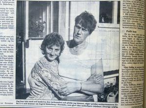 Zofia Hoffman hälsade på Ingrid Söderberg i Stocksbo under sommaren 1990.