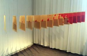 Johanna Hästös installation
