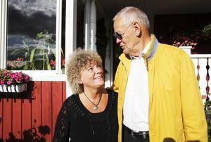 Irene Frank minns väl dagen då Gösta Viking störtade med planet