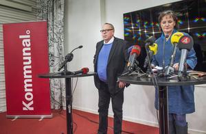 Vid en presskonferens i förra veckan meddelade Kommunals ordförande Annelie Nordström att kassör Anders Bergström avgår efter avslöjanden om bland annat frikostiga fester och fiaskoinvesteringar.