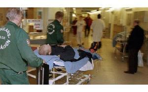 Akutmottagning, Södersjukhuset i Stockholm. foto: erik g.svensson/scanpix