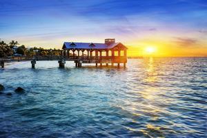 Havet och vädret bidrar till Florida Keys dragningskraft.   Foto: Shutterstock.com