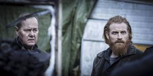 Kristofer Hivju spelar Martin Becks kompanjon i tre