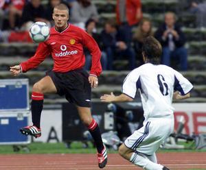 David Beckham gjorde 11 år i Manchester United innan flyttlasset gick till Spanien och Real Madrid.