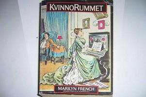 """Berömd. Marilyn Frenchs roman """"Kvinnorummet"""" kom ut 1978 och blev omedelbar bestseller. En ny svensk upplaga med efterord av Susan Faludi trycktes1995. Utropspris på ett begagnat exemplar av """"Kvinnorummet"""" på Tradera i går var 15 kronor."""