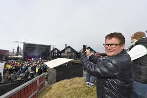 Thommy Backner på fjolårets Ski & Rock.