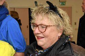 Annika Werner med koöron dagen till ära.