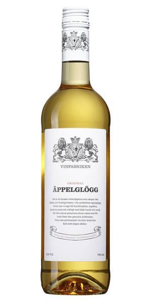 96037 Vinfabriken Äppelglögg för 79 kronor (75 cl) är till viss del gjort på äppelmust. Smaken är söt med behagligt inslag av röda äpplen, kanel, kardemumma, vanilj och bra friskhet.