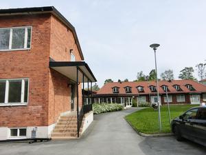 Gamla huset för barnpsykiatrin står tomt och ska rivas när etapp 1a påbörjas.