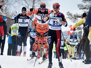 Jens Eriksson var främste dalaåkare i Vasaloppet i fjol. Foto: Ulf Palm/TT