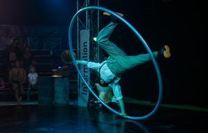 Isak Stockås studerar vid Dans och Cirkushögskolan (DOCH) i Stockholm.