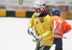 Dan Hjelm var med för första gången när cupens gamla hjältar drabbade samman – och trivdes som fisken.