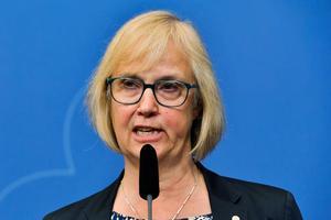 Trafikverkets generaldirektör Lena Erixon. Bild: Jonas Ekströmer/TT