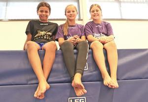 Linde Sportscamp vänder sig till unga i årskurs 4-6 i Lindesbergs kommun. Oliver Angberg Johnson, Emma Börgel och Alva Dahlberg är några av de 125 lägerdeltagarna.