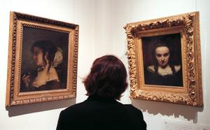 Gustave Courbets tavlor har visats av Nationalmuseum i Stockholm, dock inte