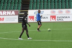 Christian Kouakou har dragits med skador under våren, förra helgen gjorde han två mål mot BP.