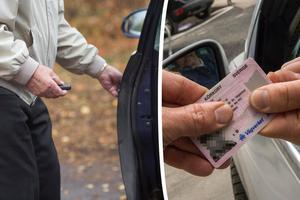 Om det ska införas körkortsprov vart tionde år ska det i så fall gälla alla med körkort – inte bara äldre och funktionshindrade, menar Tore Nordvall. Bild: Fredrik Sandberg/TT / Jonas Ekströmer/TT
