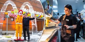Under torsdagen invigdes McDonald's i Bollnäs, som berikat staden med nästan 50 nya arbetstillfällen.