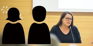"""""""Jag vill se ett delat ledarskap"""" säger Linda Sjögren."""