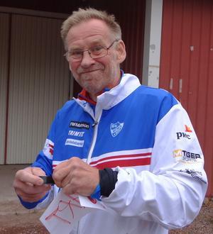 Anders Claesson har tilldelats Lädeordens hedersdiplom.