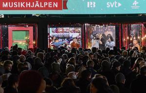 2018 var Musikhjälpen i Lund. Foto: Johan Nilsson / TT