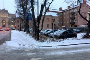 I Skanskas ägo sedan 1990-talet – här kan det bli lägenheter.