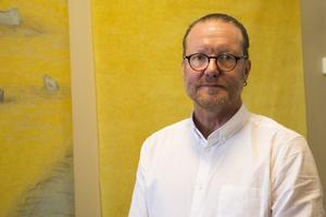 Göran Westling, rektor på Håsta skola.