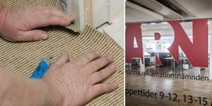 En kvinna har anmält en mattläggare i norra Dalarna till ARN. Foto: Bertil Ericson/TT,  Magnus Hjalmarson Neideman/TT