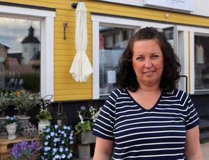Anna Johnson har  drivit Sextifyrakvadrat i tio år. Nu håller hon till i större lokaler, något som ger nya möjligheter för hennes företag.