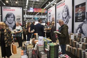 Bokmässan är i full gång i Göteborg. Denna gång med medie- och informationskunnighet som tema. Bild: TT