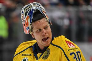 Blir Viktor Fasth Tre Kronors förstemålvakt i OS? Foto: Bildbyrån.