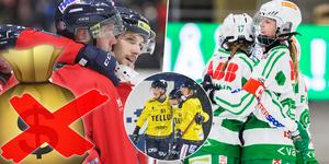 Edsbyn, Västerås SK och Tellus är på väg mot seger i sina respektive serier – men någon vinstbonus blir det inte i år.