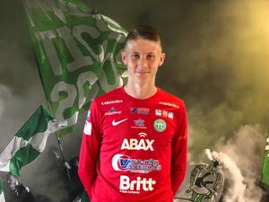 Målvaktstalangen Sebastian Selin, född 2003, är klar för en övergång till Västerås SK – men han spelar klart säsongen i Västerås IK. Bild: VSK Fotboll