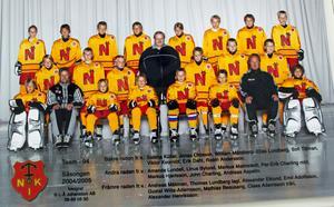 NIK:s team 1994,  04-05, med Sabina Küller längst uppe till vänster.