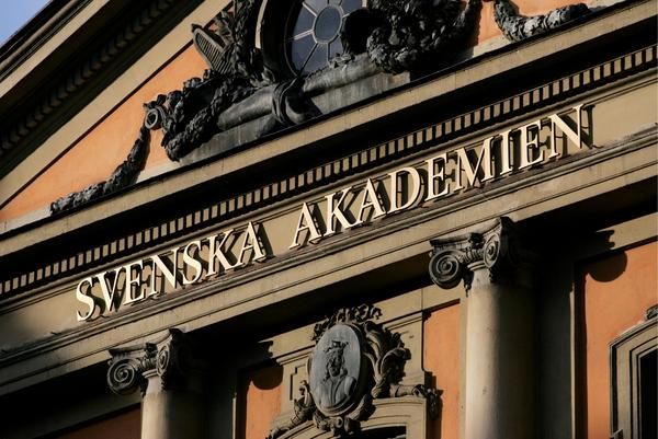 Svenska Akademien i Börshuset i Gamla Stan. Arkivbild Bild: TT