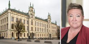 Socialdemokraternas kommunalråd Ullis Sandberg har fått en stroke.