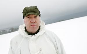 Ted Långstedt, lärare på Luftvärnets stirdsskola.