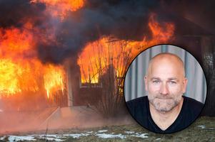 Fotomontage: TT Nyhetsbyrån och Brandskyddsföreningen.Äldre extra utsatta för dödsbränder: