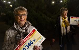 """Marianne Pettersson har varit med i Postkodlotteriet sedan starten och bara vunnit småvinster. """"Så äntligen, det här jättekul""""."""