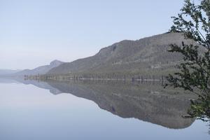 Fågelberget i lugnet själv. Vacker utsikt på Vildmarksvägen. Foto: Stig-Björn Sundell