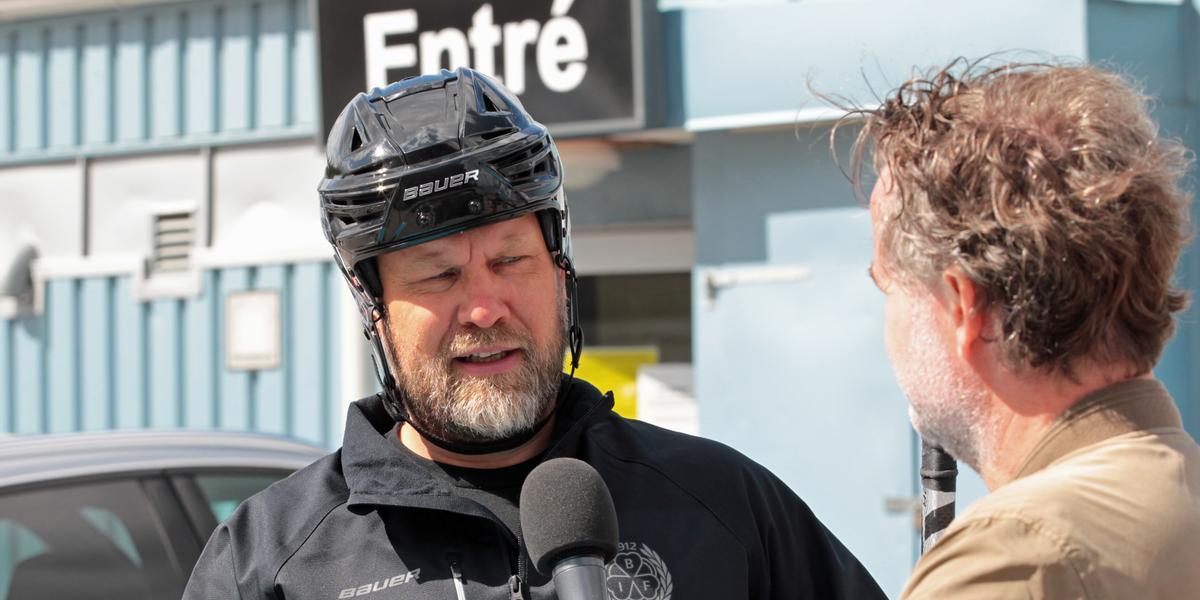 TV: Hög nivå på Brynäs första isträning – Mikko Manner plockade in flera NHL-proffs