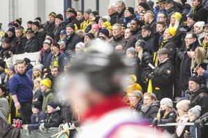 Det kom 1 734 personer för att se derbyt mellan Broberg och Bollnäs på fredagskvällen.