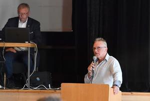 Kjell Tenn centerpartiet var en av de som var oroade över utvecklingen av kommunens ekonomi.