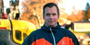 Martin Haag, ägare Tunbyns grävkonsult, årets Supergasell.
