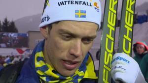 Marcus Hellner tänker köra Tour de ski. Bild: SVT.
