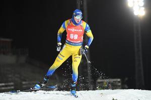 Sebastian Samuelsson är en av alla världsstjärnor som åker på skidor framtagna av bland annat Gabriel Hallquist. Foto: TT
